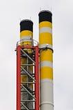 обрабатывать завода отброса печной трубы Стоковые Изображения RF