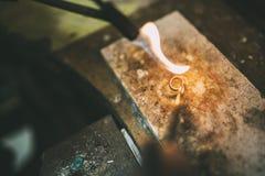 Обрабатывать кольца стоковая фотография rf
