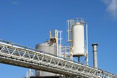 Обрабатывать нефти и газ стоковые фотографии rf