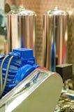 обрабатывать пищевой промышленности оборудования Стоковые Изображения RF
