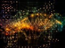 Обрабатывать потока информации Стоковые Изображения RF