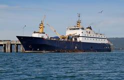 обрабатывать рыб шлюпки залива Стоковые Изображения
