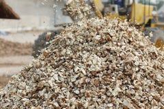 Обрабатывать сельскохозяйственного продукта кассавы Стоковое Изображение RF