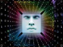 Обрабатывать супер человека AI Стоковое Фото