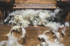 Обрабатывать шерстей стоковое изображение rf