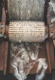Обрабатывать шерстей стоковые фото