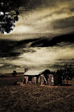 обработанная руина grunge Стоковая Фотография