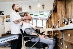 Обработка бороды и усика волос Стоковые Изображения RF