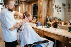 Обработка бороды и усика волос Стоковая Фотография