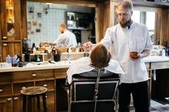 Обработка бороды и усика волос Стоковые Изображения