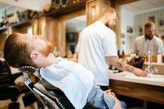 Обработка бороды и усика волос Стоковое Изображение RF