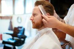 Обработка бороды усика волос Стоковые Фотографии RF