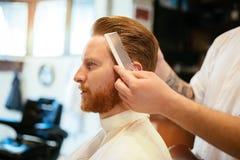Обработка бороды усика волос Стоковая Фотография RF