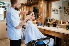 Обработка бороды усика волос Стоковые Изображения
