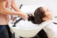 Обработка волос Стоковое фото RF