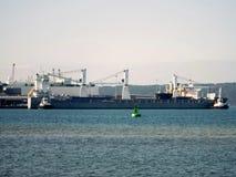 Обработка грузов моря стоковые изображения rf
