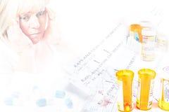 обработка документов медицинского соревнования Стоковая Фотография RF
