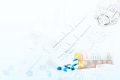 обработка документов медицинского соревнования Стоковые Фотографии RF