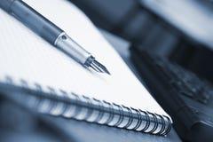 обработка документов офиса Стоковые Изображения RF