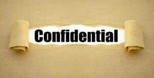 Обработка документов с конфиденциальным стоковое изображение rf