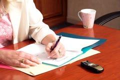 обработка документов 5 Стоковые Изображения