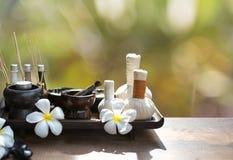 Обработка курорта и массаж, Таиланд, Стоковые Фото
