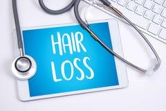 обработка медицины haircare потери воздуха алопесии облыселая, выпадение волос Стоковое Изображение