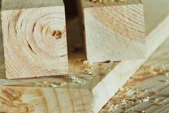 обработка древесины Стоковая Фотография