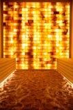 обработка соли комнаты заболеваниями halotherapy дыхательная Стоковое Изображение