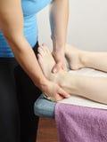 Обработка Osteopathy Стоковые Фото