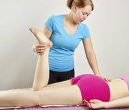 Обработка Osteopathy Стоковое Изображение RF