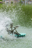 Обработка turbinewater аэратора Стоковые Фотографии RF