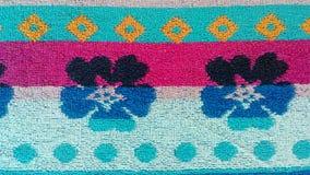 Образец абстрактных цветков и геометрических диаграмм Стоковые Фотографии RF