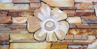 Образец загородки выставки от декоративных бетонных плит Стоковое Изображение