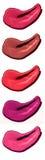 Образец мазка губной помады на белой предпосылке Стоковое фото RF