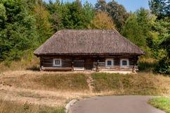 Образец старых домов Украины Стоковые Фото