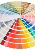 Образец цвета Стоковое Изображение RF