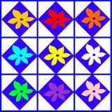 Образец цветков Стоковая Фотография RF