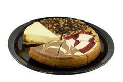 образец cheesecake Стоковые Изображения RF