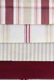 Образец linen тканей ткани Стоковое Фото