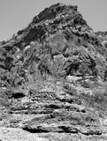 образование вулканическое Стоковое Изображение