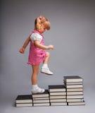 образование идя успешно вверх Стоковое фото RF