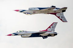 Образование калипсо буревестников USAF Стоковое Изображение
