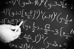 Образование математики Стоковые Изображения RF