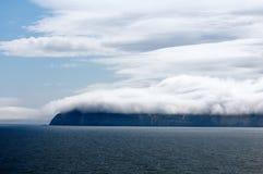 Образование облака в Аляске стоковые изображения rf