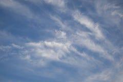 Образование облака wispy Стоковые Изображения