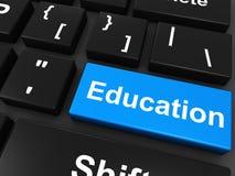 образование он-лайн Стоковые Фотографии RF