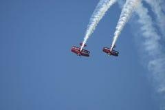 Образование самолет-бипланов Стоковая Фотография RF