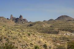 Образование ушей ослов на большом национальном парке загиба Стоковое Изображение RF