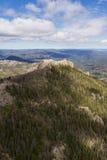 Образования гранита в Black Hills стоковые фотографии rf